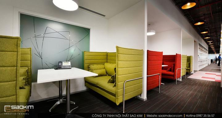 Thiết kế nội thất văn phòng làm việc Dimension Data