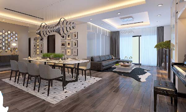 Báo giá thiết kế nội thất chung cư