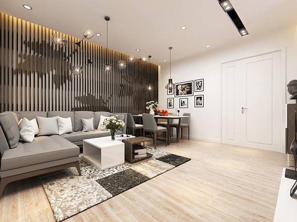 Cần chú ý tính thống nhất và sự độc đáo khi thiết kế nội thất cho căn hộ chung cư của gia đình.