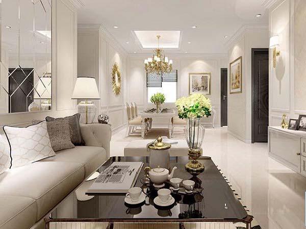 Cần đặc biệt chú ý những nguyên tắc nhất định trong thiết kế căn hộ chung cư
