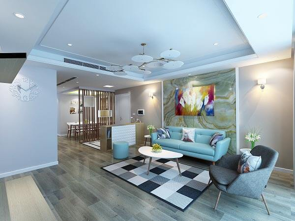 Chọn đơn vị thiết kế, thi công nội thất chung cư có nhiều ý tưởng sáng tạo, độc đáo cho không gian căn hộ thêm ấn tượng.
