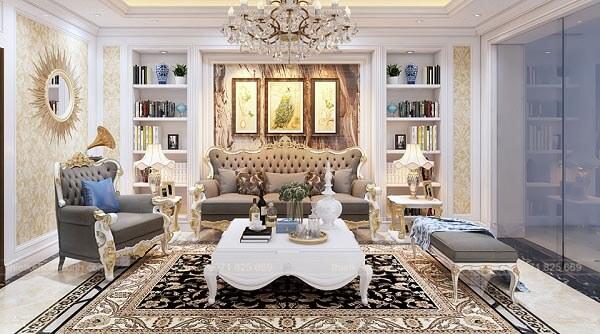 Chung cư theo phong cách tân cổ điển ấn tượng và sang trọng, đẳng cấp hoàng gia đang được nhiều gia đình yêu thích.