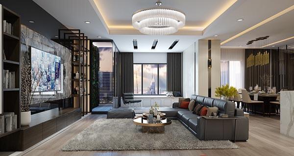 Mẫu thiết kế chung cư vừa hiện đại lại sang trọng đang được nhiều gia đình yêu thích