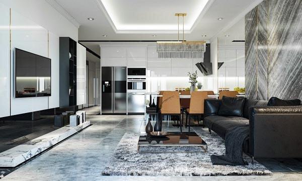 Chung cư đẹp được thiết kế theo tiêu chuẩn nhất định