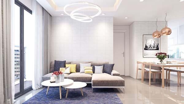 Phong cách chung cư hiện đại đem đến sự thoải mái cho gia đình