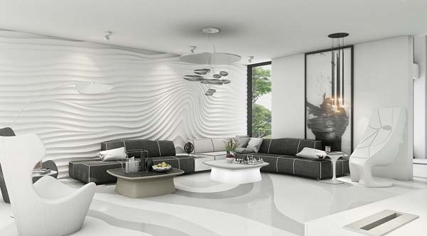 Phong cách chung cư hiện đại tạo nên vẻ đẹp ấn tượng, trang nhã và thu hút nhiều người