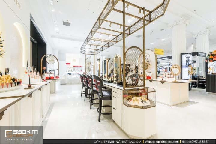 Thiết kế cửa hàng mỹ phẩm Louboutin