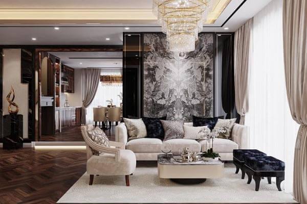 Thiết kế nội thất chung cư 130m2