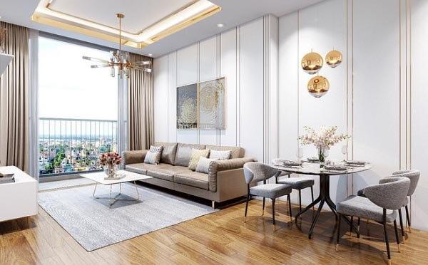 Thiết kế nội thất chung cư có nhiều mức giá và sự chênh lệch theo các yếu tố khác nhau.