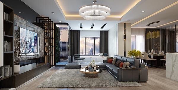 Thiết kế nội thất chung cư nội thất 140m2