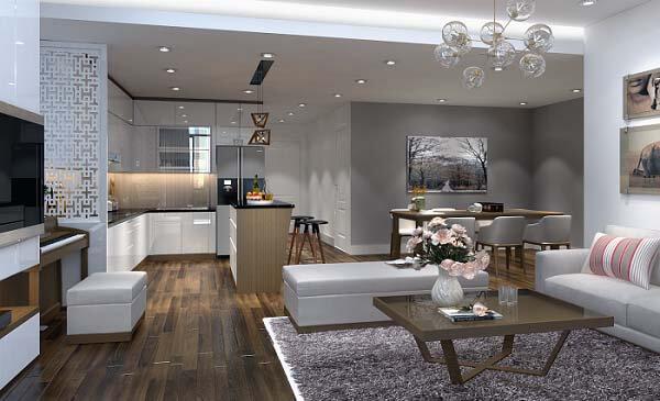 Thiết kế nội thất chung cư theo nhiều phong cách khác nhau