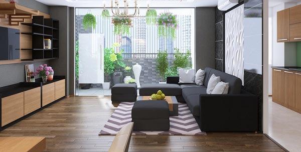 Thiết kế nội thất chung tư theo phong cách hài hòa