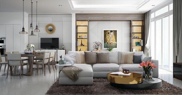 Thiết kế nội thất chung cư rẻ đẹp