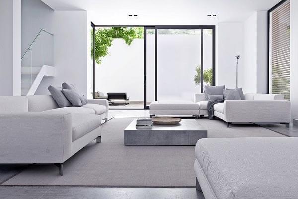 Phong cách tối giản nhưng lại mở rộng không gian, vừa hiện đại lại mang đến sự thoải mái, thư giãn cho gia đình.