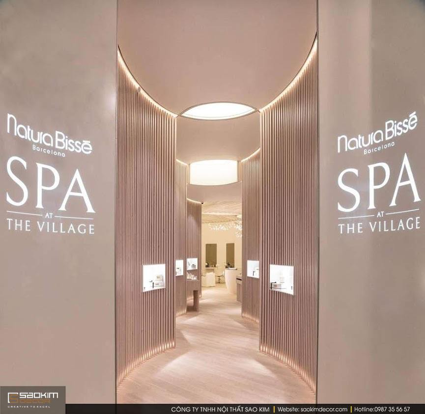 Thiết kế spa phong cách Futuristic