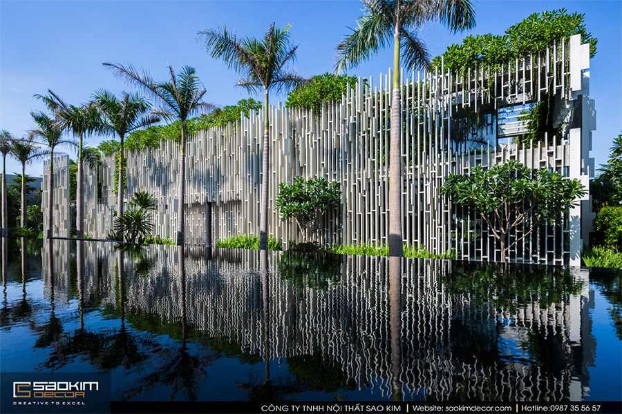 Thiết kế spa nghỉ dưỡng Naman Retreat Pure Spa
