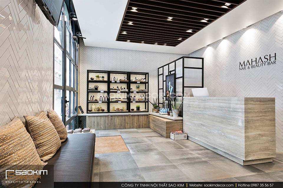 Thiết kế nội thất spa hiện đại