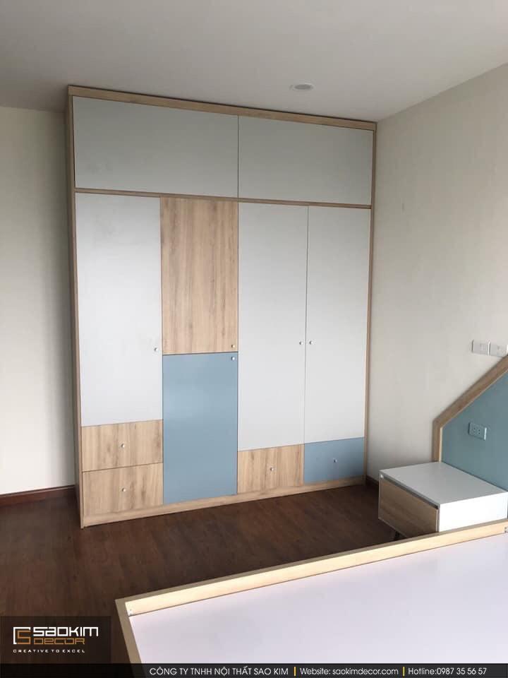 Thiết kế phòng ngủ chung cư Vimeco