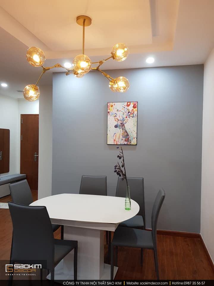 Thiết kế phòng bếp chung cư Vimeco