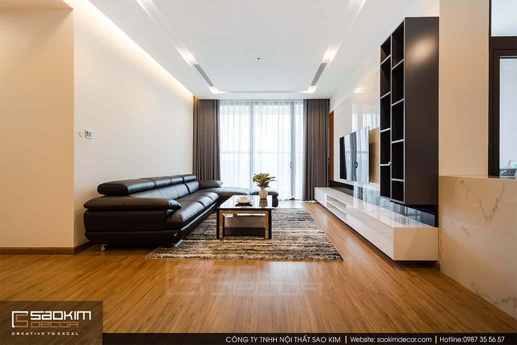 Thiết kế và thi công chung cư cao cấp Vinhome Metropolis Liễu Giai