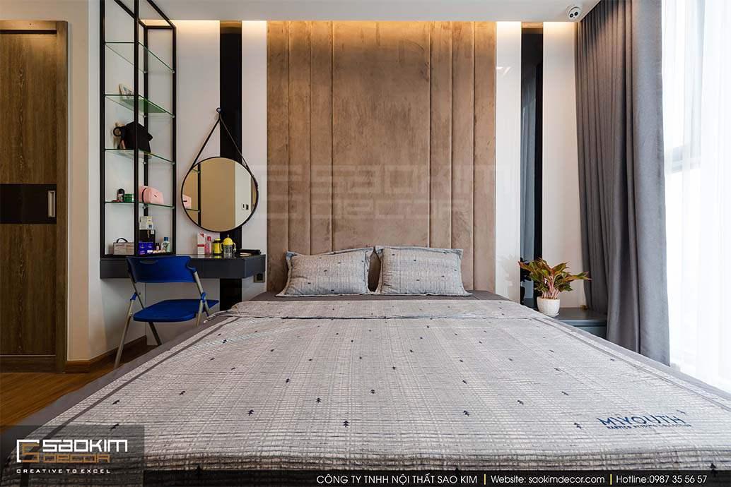 Thiết kế phòng ngủ chung cư Vinhome Metropolis Liễu Giai