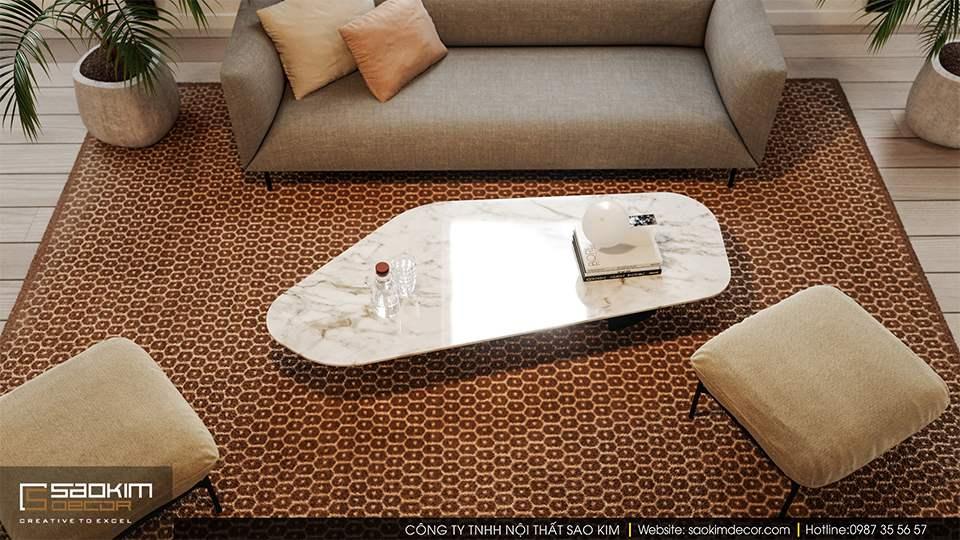 Thiết kế văn phòng đẹp công ty Malno