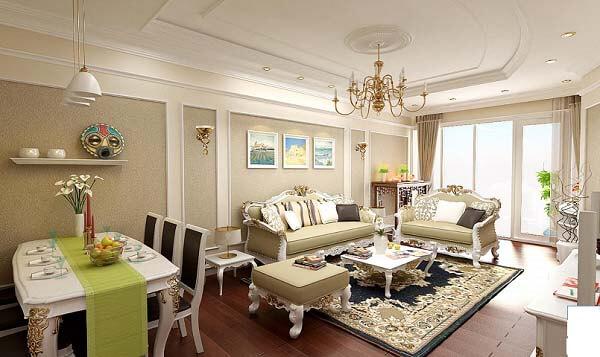 Mẫu thiết kế nội thất chung cư đẹp nhất