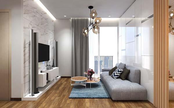 Các căn hộ được thiết kế vô cùng tinh tế và ấn tượng