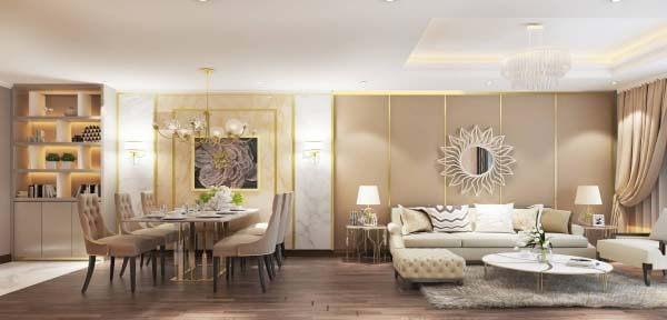 Các mẫu thiết kế nội thất chung cư đẹp