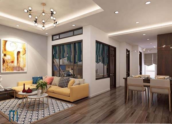 Không gian rộng rãi, ngăn nắp sau thiết kế cũng tạo nên sự thoải mái cho các thành viên trong gia đình.