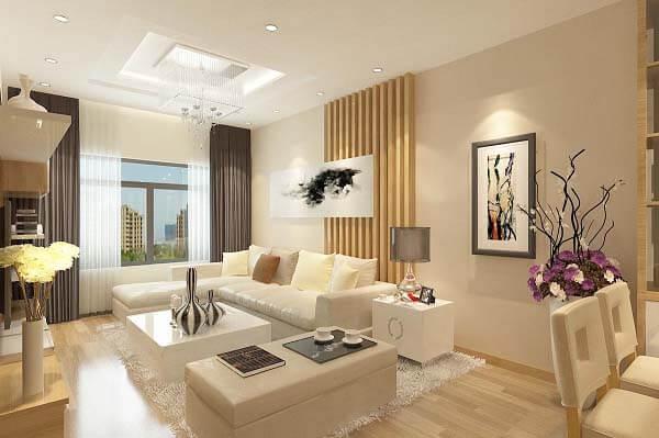 Mẫu thiết kế nội thất căn hộ 3 phòng ngủ