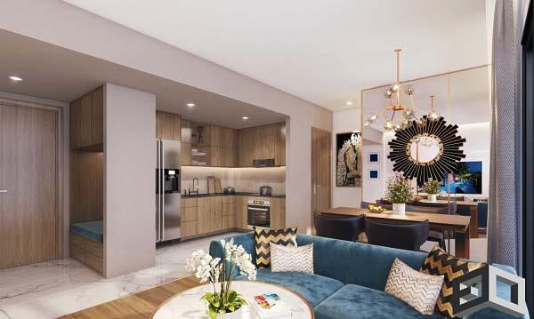 Mẫu thiết kế nội thất căn hộ đẹp