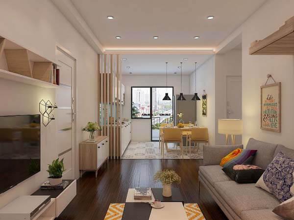 Những căn hộ nhỏ đẹp nhưng được thiết kế ấn tượng sẽ phần nào mang đến không gian sống thoải mái dành cho các gia đình.