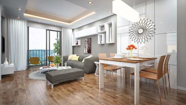 Các phong cách thiết kế nội thất căn hộ vô cùng đa dạng theo nhu cầu và sở thích khác nhau của các gia đình.