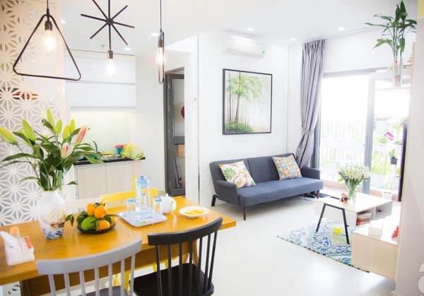 Sau thiết kế, căn hộ nhỏ của bạn sẽ trở nên sống động hơn.