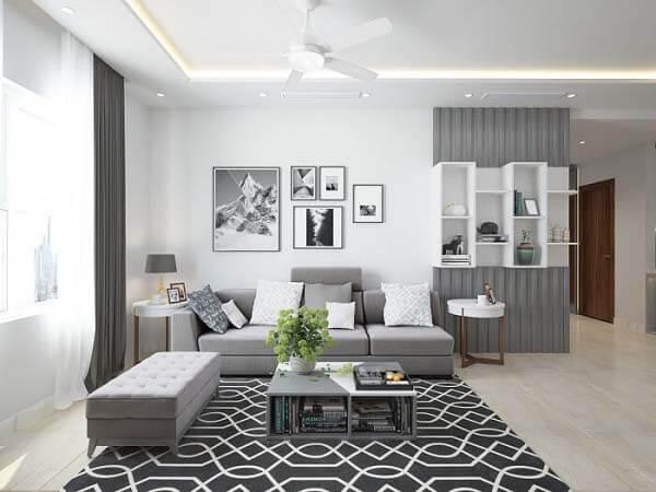 Thiết kế căn hộ nhỏ theo phong cách hiện đại đang được ưa chuộng hiện nay