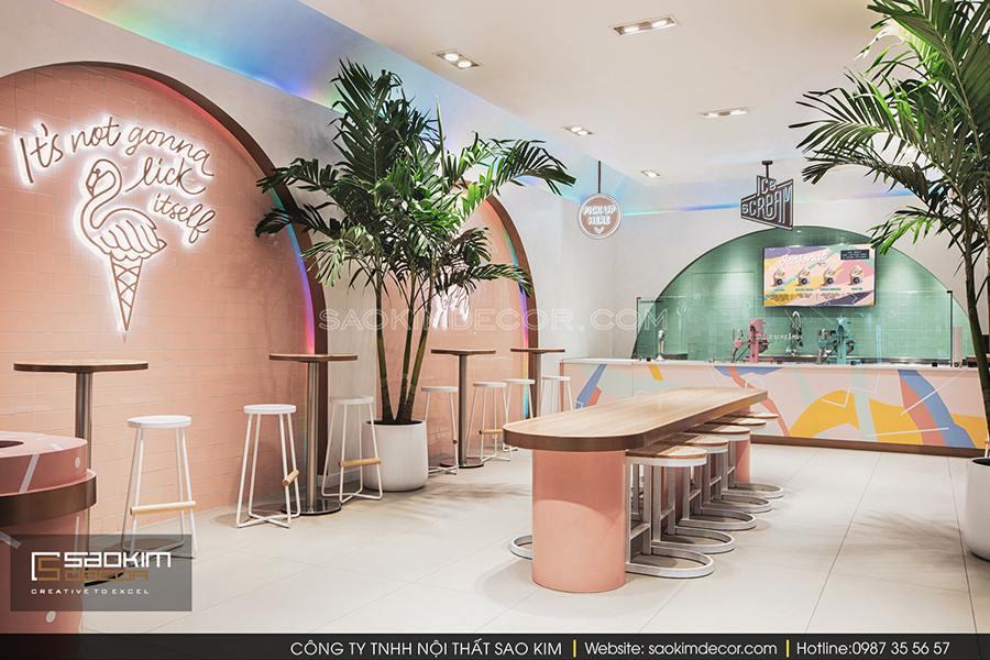 Thiet Ke Cua Hang Cafe 10