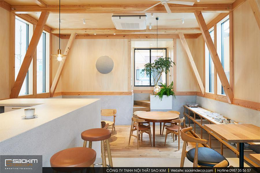 Thiet Ke Cua Hang Cafe 5