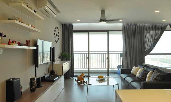 Thiết kế nội thất căn hộ 130m2