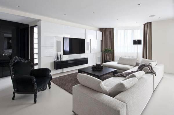 Mẫu thiết kế nội thất căn hộ 140m2
