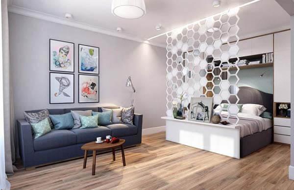 Thiết kế nội thất căn hộ nhỏi 35m2