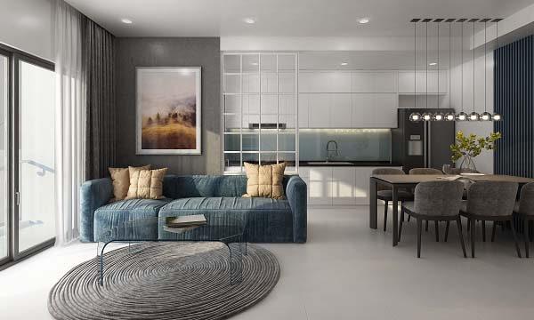 Thiết kế căn hộ chung cư đang trở thành xu hướng HOT hiện nay