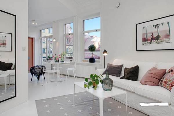 Thiết kế nội thất căn hộ nhỏ 50m2
