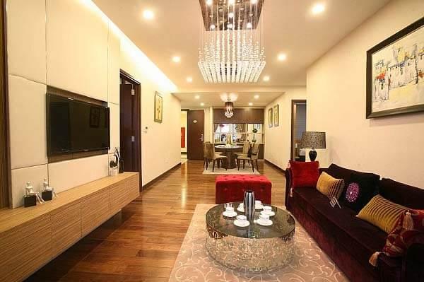 Nếu căn hộ của bạn tương đối rộng rãi thì đây cũng là một trong những gợi ý mẫu thiết kế mà nhất định bạn đừng nên bỏ qua!