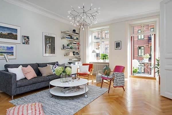 Thiết kế nội thất căn hộ nhỏ xinh đang được nhiều gia đình yêu thích