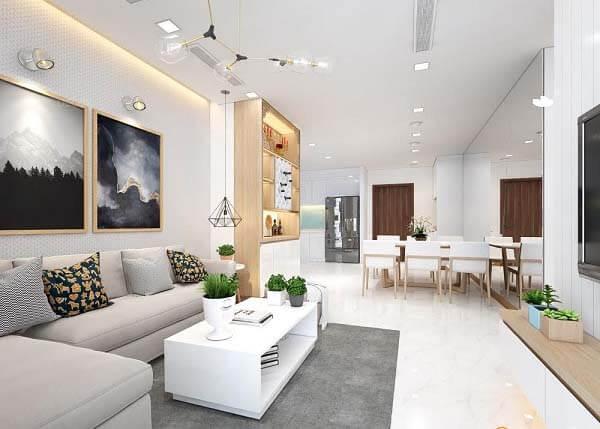 Xu hướng thiết kế căn hộ hiện đại, rộng rãi và thoáng đãng đang được nhiều gia đình mê mẩn.