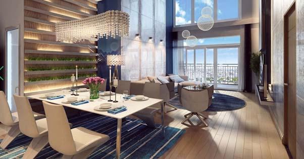 Thiết kế nội thất chung cư Vinata Towers ấn tượng và đẳng cấp