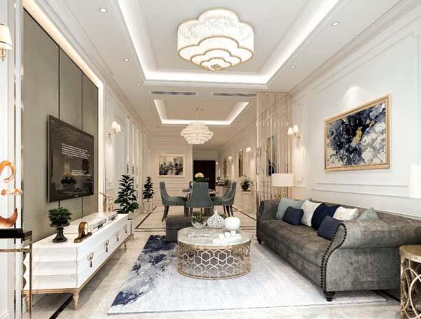 Thiết kế chung cư Five Star Westlake hiện đại, sang trọng