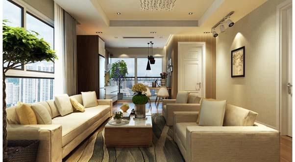 Thiết kế độc đáo và hiện đại của chung cư e2 Yên Hòa