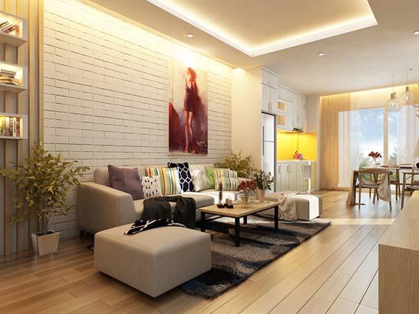 Thiết kế nội thất chung cư Hateco Plaza được nhiều người yêu thích